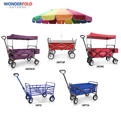 Everyday Sports High Quality Outdoor Folding Wagon Camping Collapsible Cart