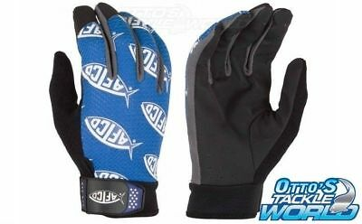 AFTCO Utility Fishing Gloves (Pair) BRAND NEW at Otto's Tackle World Drummoyne