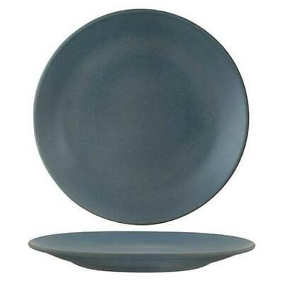 6x Coupe Plate, Zuma 'Denim', 260mm, Tapas / Commercial Crockery / Restaurant