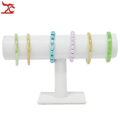 Jewelry Display T bar Jewelry display bangle bar white