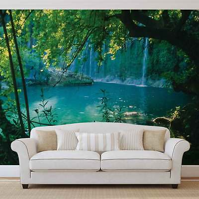 WALL MURAL PHOTO WALLPAPER XXL Tropical Waterfall Lagoon (1783WS)