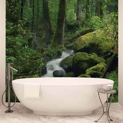 WALL MURAL PHOTO WALLPAPER XXL Waterfall in the Forest  (163WS)