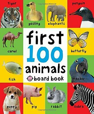 First 100 Animals (First 100 Soft to Touch Board B... by Roger Priddy Board book