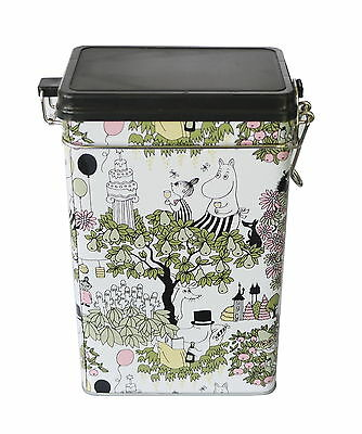 Moomin Garden Coffee Tea Tin Box Martinex