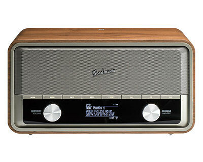 Goodmans Heritage II Connect Digital Internet Connected Radio