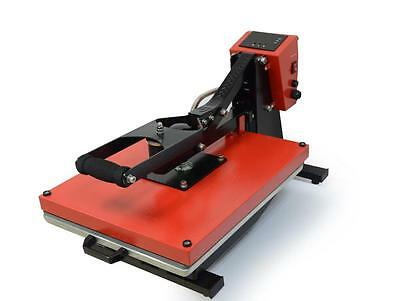 SemiAuto Heat Press Microtec Top Quality High Pressure UHP-15/20MS 38x38/40x50cm