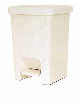 Superior Performance Plastic 1.88 Gallon Step On Trash Can