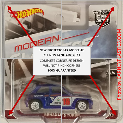 Hot Wheels Blister Pack Covers, Protector Pack  24