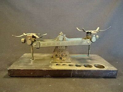 Old Vtg Eastman Kodak Studio Weighing Scale Chemical Scale