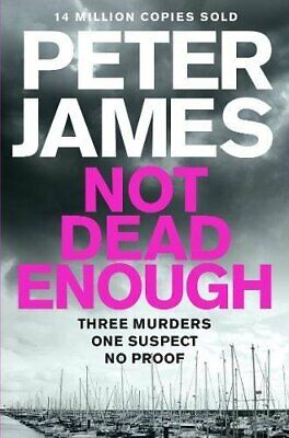 Not Dead Enough (Roy Grace) by James, Peter Book The Cheap Fast Free Post