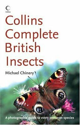 Collins Complete British Insects (Collins S.) by Chinery, Michael Paperback The
