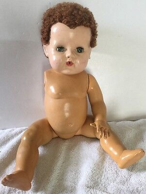 """Vintage 19"""" American Character Tiny Tears Doll Caracul Wig Parts/Repair"""