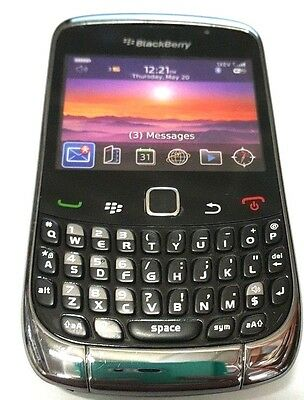 New Blackberry Curve 9300 Dummy Display CellPhone Toy Todler Kids Sample Black