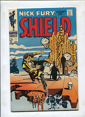 Nick Fury, Agent Of Shield #7 (7.5) Steranko Salvidor Dali Cover Swiipe!