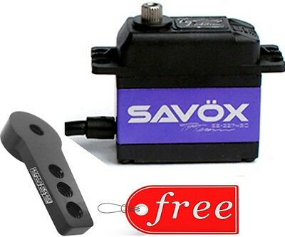 Savox SB2274SG-TE Tessman Edition High Voltage BL Digital Servo + Aluminum Horn