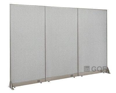 "GOF Office Freestanding Partition 90""W x 72""H / Office Divider"