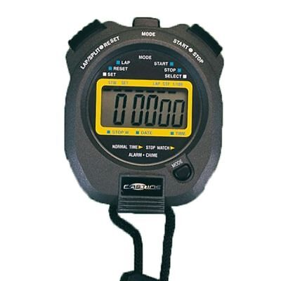 Fastime 2 Professional Handheld Shock Resistant Sports Football Timer Stopwatch