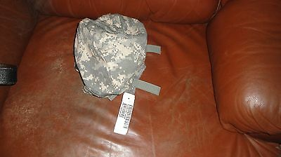 NWT GENUINE US MILITARY ACU Small Med ACH HELMET COVER W/ NVG FLAP + IR TABS