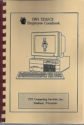 Madison Wi 1991 Tds/Cs Computing Services Employees Cook Book * Wisconsin Local
