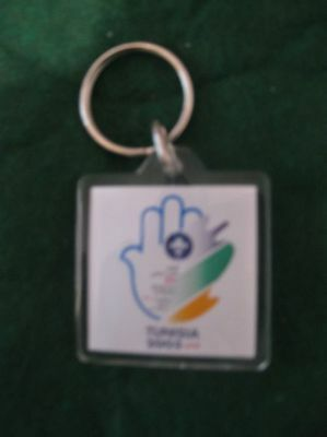 2005 World Scout Conference Keychain- Tunisia