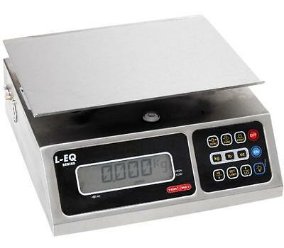 Torrey LEQ-5/10 Portion Control Scale Stainless Steel NTEP 10 X 0.002 lb,LFT,New