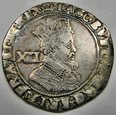 1604-1619 Great Britain, Shilling - James 1 - Lovely Antique Patina