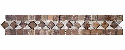 Classic Marble Border mosaic tiles for kitchen and bathroom $1.10 each