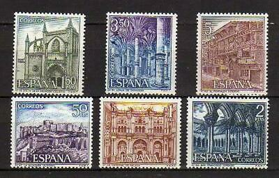 A7787) SPAIN 1970 Scott#1616/21 MNH** Tourism