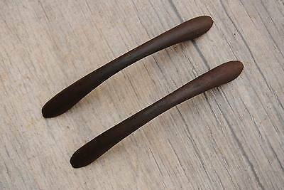 Antique Vintage Cast Iron door cabinet screen handles Pull rustic Victorian 4.2""