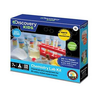Discovery Kids - Chemistry Lab Kit 80 Experiments NEW toy