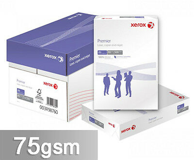 Xerox Premier 75 Gsm White A4 Paper  Multilisting 1 2 3 4 5 + Reams Free24H