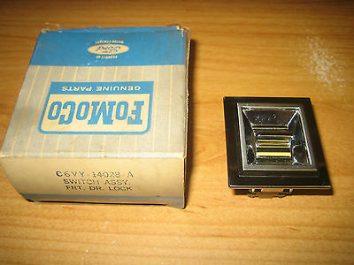 NOS FoMoCo 1966-1968 Lincoln Continental Vacuum Power Door Lock Switch