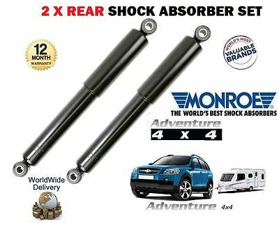 FOR CHEVROLET CAPTIVA 2006-  HEAVY DUTY TOWING 2x REAR SHOCK ABSORBER SHOCKERS