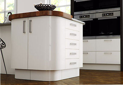 ***NEW*** REPLACEMENT HIGH GLOSS White KITCHEN DOORS
