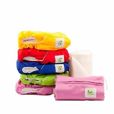 Starter Pack - Quality MCN Reusable EcoNappies Modern Pocket Cloth Nappies