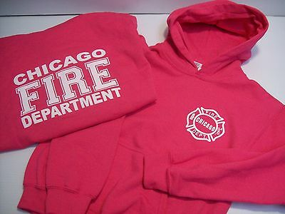 Chicago Fire Department Heliconia Youth Pullover Hoodie