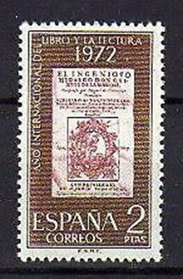 A7803) SPAIN 1972 Scott#1703 MNH** Don Quixote 1v