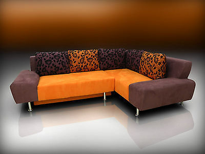 Cool Corner Sofa Bed 'ricco' From Producer 260 X 180Cm Custom Colours!!!