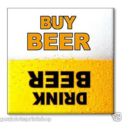 Clean Dirty Dishwasher Magnet - Funny Gag Gift Idea for Beer Drinking Game - Nov