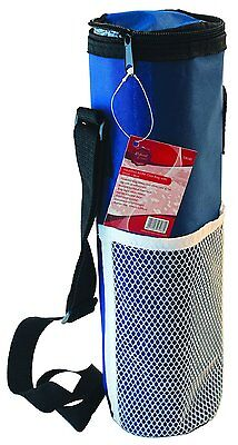 Picnic Camping Cool Bag Food Drinks Wine Travel Storage Insulated Bag Blue / Red