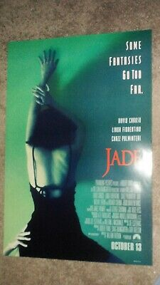 Jade Original Movie Poster (1995) 27x40 Double Sided