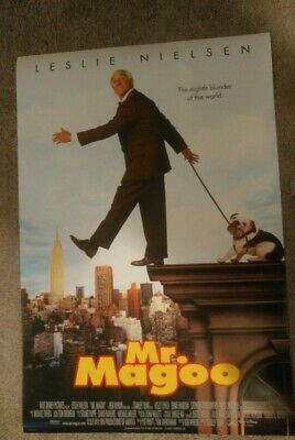 Mr.Magoo Original Movie Poster 27x40 Double Sided Leslie Nielsen