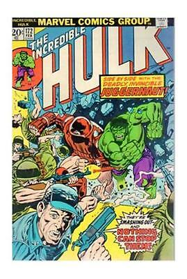 The Incredible Hulk #172 (Feb 1974, Marvel) mid grade