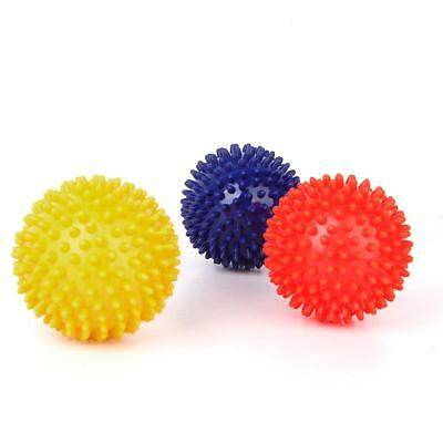 Footful Spikey Massage Ball Hard for Foot/Arm/Neck/Body Triangle Point 9cm