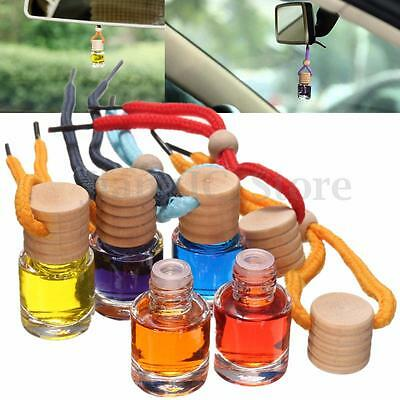 Home Car Pendant Air Freshener Diffuser Essential Oil Aromatherapy Fragrance
