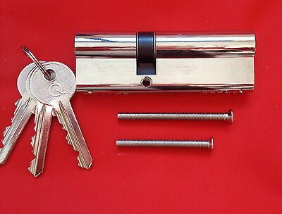 Euro Cylinders all sizes available. Any sizes can be keyed alike and extra keys