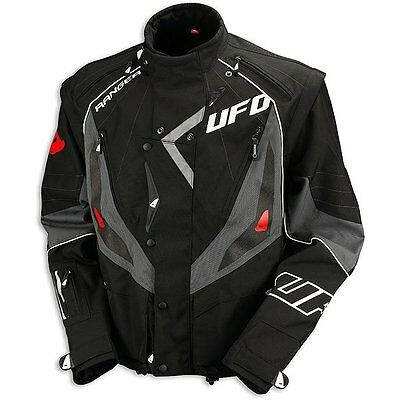 UFO 2016 Adult Ranger Motocross & Enduro Jacket - Black