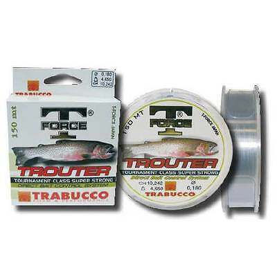 TRABUCCO T-FORCE TROUTER 150mt. fishing monofilament