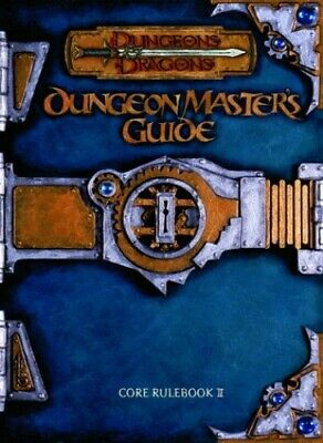 Dungeon Master's Guide CORE RULEBOOK II (Dungeons & D... by Cook, Monte Hardback