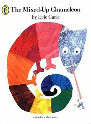 The Mixed-up Chameleon (Picture Puffin), Carle, Eric Paperback Book